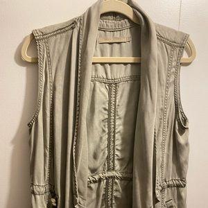 Washed out vest